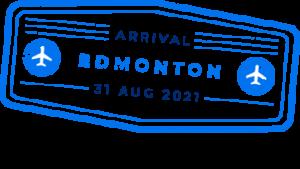 Edmonton Stamp