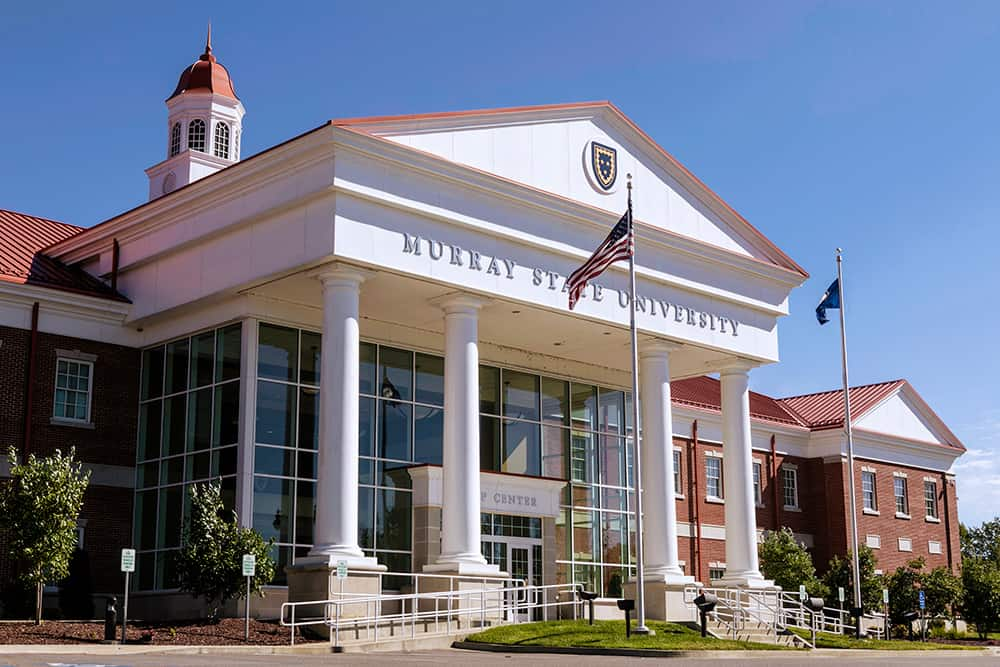 A photo of Murray State University campus.