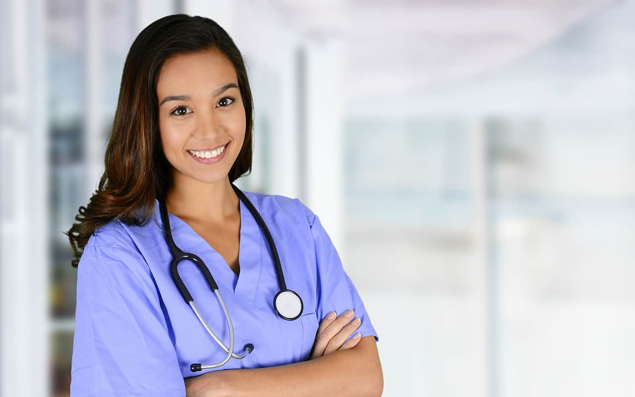 A female nursing student from Sterling College.