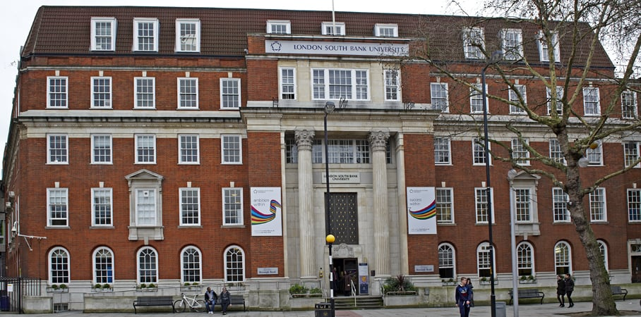 A photo of London South Bank University.